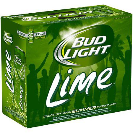 BUD LIGHT LIME 30-PACK CANS