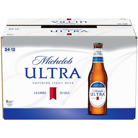 MICHELOB ULTRA 12OZ BOTTLES