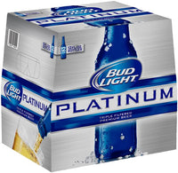 BUD LIGHT PLATINUM 12-PACK 12OZ BOTTLES