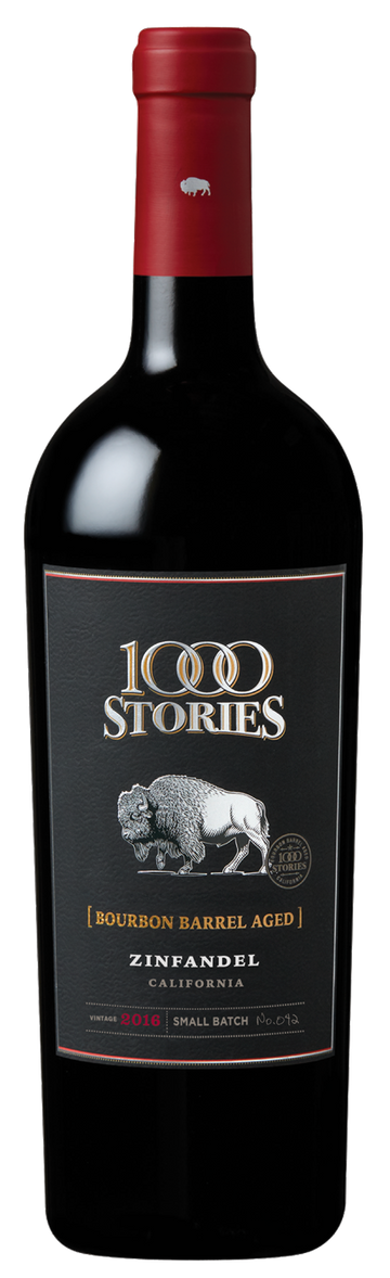 1000 STORIES ZINFANDEL BOURBON BARREL AGED