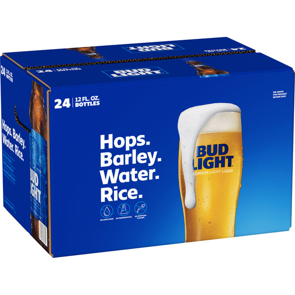 BUD LIGHT 12OZ LOOSE BOTTLES