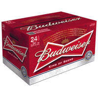 BUDWEISER 12OZ BOTTLES CASE