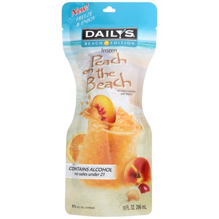 DAILYS FROZEN COCKTAIL PEACH ON THE BEACH 10OZ