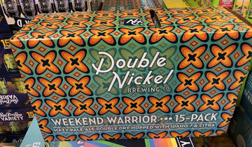 DOUBLE NICKEL WEEKEND WARRIOR 15-PACK CANS
