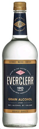 EVERCLEAR ALCOHOL 190
