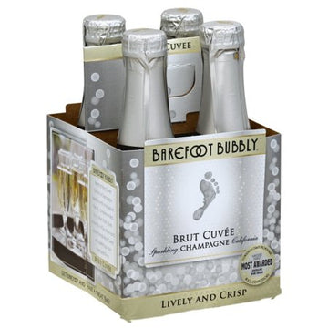BAREFOOT BUBBLY BRUT 187ML