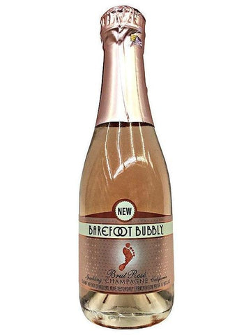 BAREFOOT BUBBLY BRUT ROSE 187ML