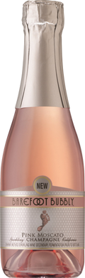 BAREFOOT BUBBLY PINK MOSCATO 187ML