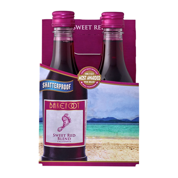 BAREFOOT SWEET RED 187ML