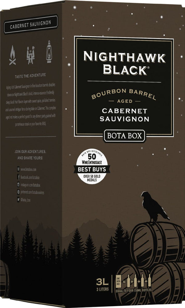 BOTA BOX NIGHTHAWK BOURBON BARREL CABERNET SAUVIGNON