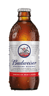 BUDWEISER DISCOVERY RESERVE 16OZ ALUMINUM PINTS