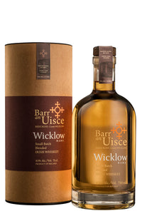BARR AN UISCE WICKLOW IRISH WHISKEY
