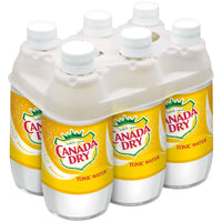 CANADA DRY TONIC WATER 6-PACK