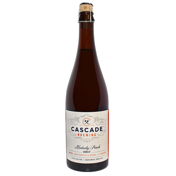 CASCADE BREW KENTUCKY PEACH 750ML