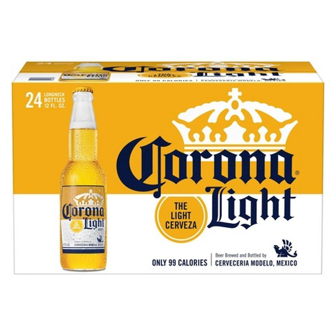 CORONA LIGHT 12OZ BOTTLES CASE