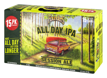 FOUNDERS ALL DAY IPA 15-PACK CANS