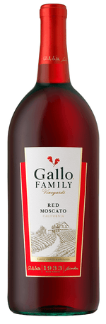 GALLO RED MOSCATO