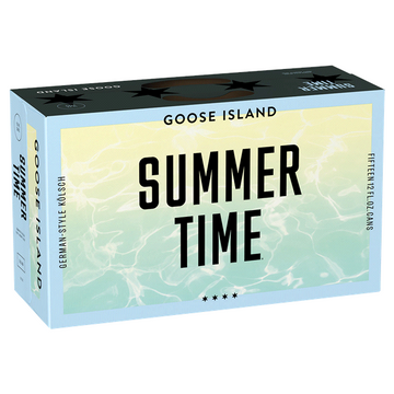 GOOSE ISLAND SUMMERTIME 15PK CANS
