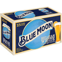 BLUE MOON BELGIAN WHITE 15PK CANS