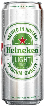 HEINEKEN LIGHT 12OZ CANS CASE