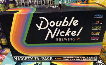 DOUBLE NICKEL VARIETY 15-PACK CANS