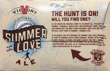 VICTORY SUMMER LOVE ALE 15PK CANS