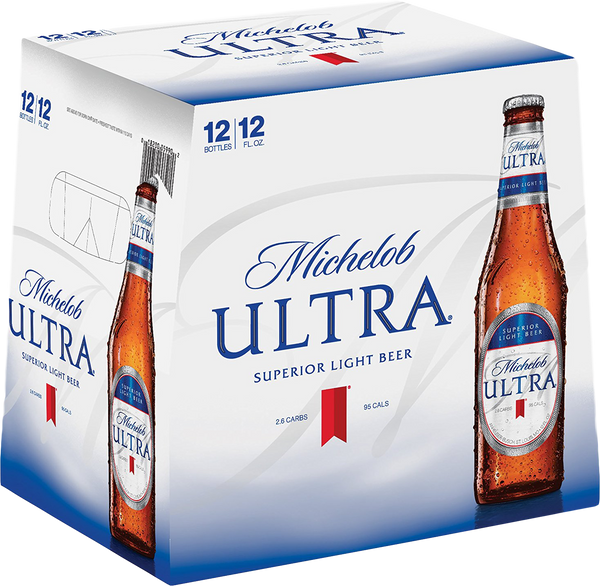MICHELOB ULTRA 12-PACK BOTTLES