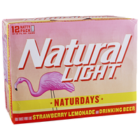 NATURAL LIGHT NATURDAY 12PK CAN