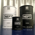 NEFT VODKA BLACK BARREL 750ML