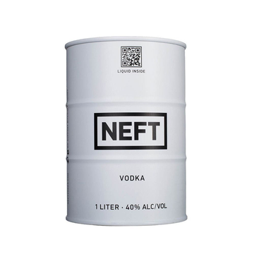 NEFT VODKA WHITE BARREL 750ML