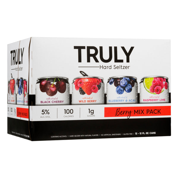 TRULY SPIKED BERRY MIX 12-PACK CANS