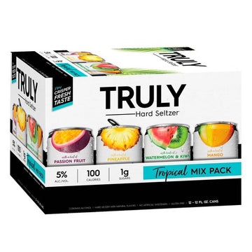 TRULY SPIKED TROPICAL MIX 12-PACK CANS