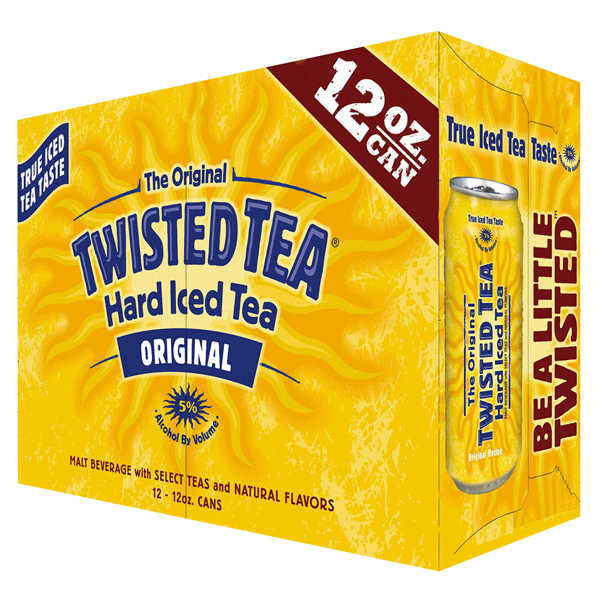 TWISTED TEA ORIGINAL 12-PACK CANS
