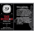 2SP BREW THE RUSSIAN IMPERIAL STOUT CANS