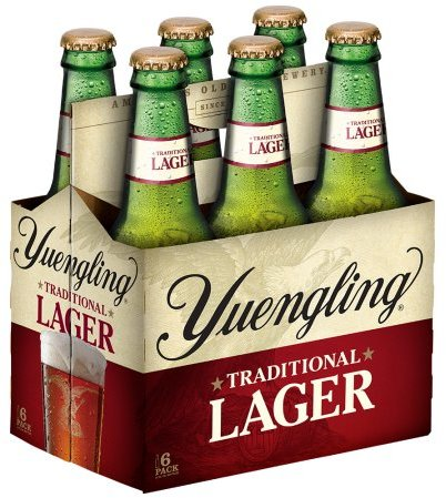 YUENGLING LAGER 6-PACK 12OZ BOTTLES
