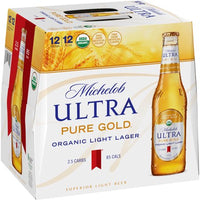 MICHELOB ULTRA GOLD 12-PACK BOTTLES