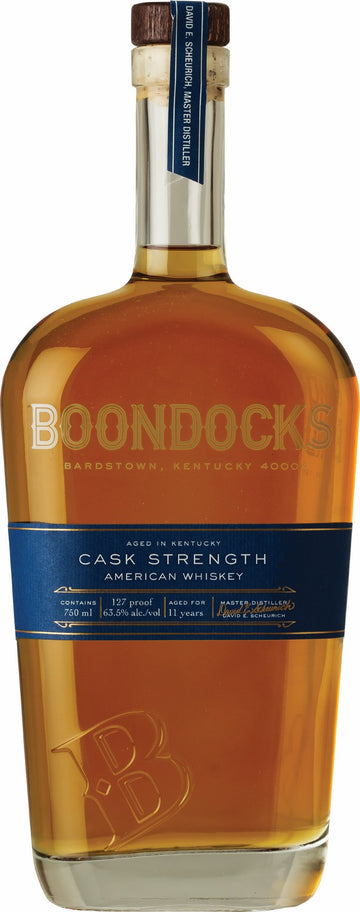 BOONDOCKS CASK STRENGHT WHISKEY