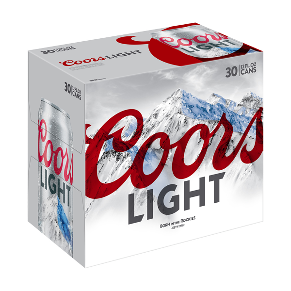 COORS LIGHT CANS 30-PACK