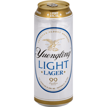 YUENGLING LIGHT LAGER 24OZ CAN
