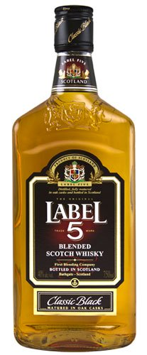 LABEL 5 BLENDED SCOTCH