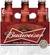 BUDWEISER 6-PACK 7OZ BOTTLES