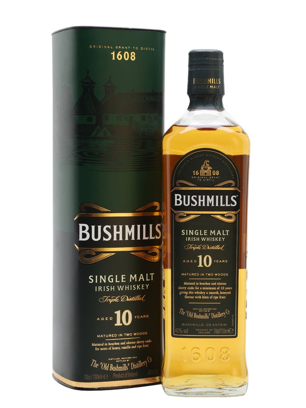 OLD BUSHMILLS MALT 10-YEAR