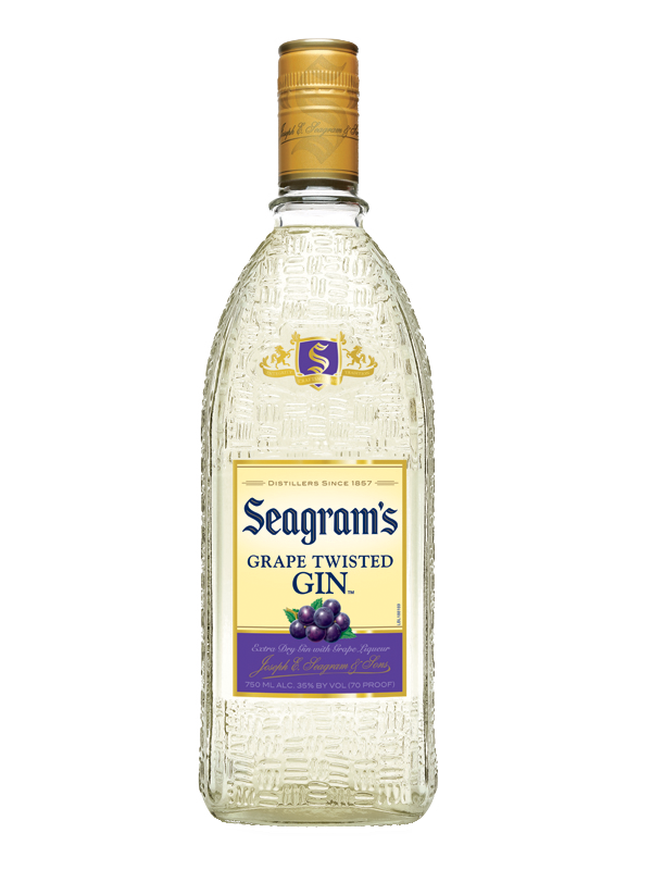 SEAGRAMS GRAPE GIN