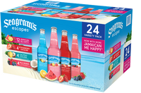 SEAGRAMS VARIETY COOLERS 12OZ BOTTLES