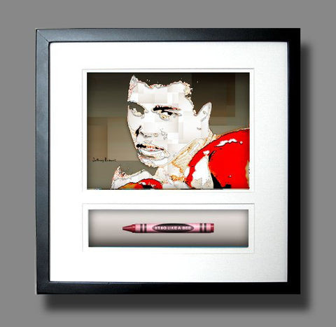 *NEW* STING LIKE A BEE (MUHAMMAD ALI) Crayon Collectible Gift Line