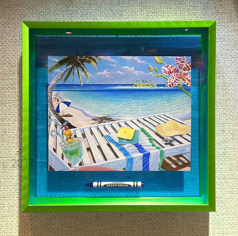 BEACH BREAK Crayon Collectible