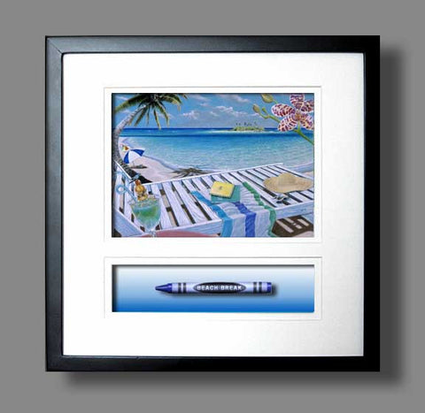 BEACH BREAK Crayon Collectible Gift Line