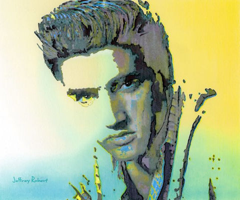 ELVIS POP CRAYON ART Crayon Collectible