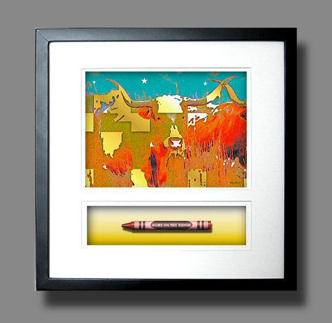 *New HOME ON THE RANGE Crayon Collectible Gift Line