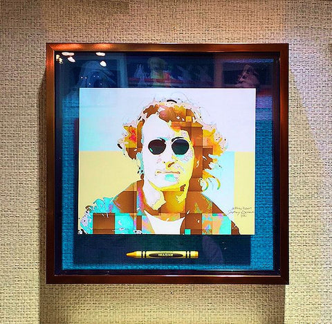 IMAGINE (LENNON) POP CRAYON ART Crayon Collectible
